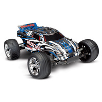Traxxas 1/10 Rustler RTR 2WD Brushed Stadium Truck with TQ2.4GHD (BlueX)