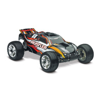 Traxxas 1/10 Rustler RTR 2WD Stadium Truck with TQ2.4GHD (Black)