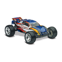 Traxxas 1/10 Rustler RTR 2WD Stadium Truck with TQ2.4GHD (Blue)