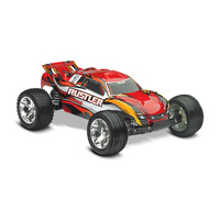 Traxxas 1/10 Rustler RTR 2WD Stadium Truck with TQ2.4GHD (Red)