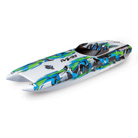 Traxxas M41 Wideboy 40in Race Boat RTR Green