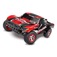 Traxxas 1/10 Slash RTR 2WD Brushed Short Course RC Truck (Red)