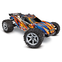 Traxxas 1/10 Rustler 4WD Brushless VXL Stadium Truck (Orange)