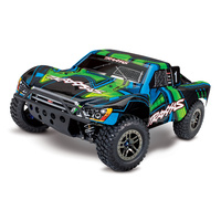 Traxxas 1/10 Slash 4WD Brushless Ultimate Short Course RC Truck (Green)