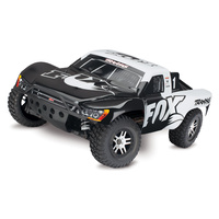 Traxxas 1/10 Slash 4X4 4WD Brushless Short Course Truck RTR w/TSM (Fox)