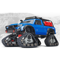 Traxxas 1/10 TRX4 Scale Crawler with All-Terrain Traxx - Blue