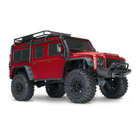 Traxxas 1/10 TRX4 Scale and Trail Land Rover Crawler (Red)