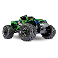 Traxxas 1/10 HOSS 4x4 VXL Monster Truck Green