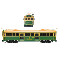 Cooee 1/76 Electric W6 Green Rattler Tram no965 M&MTV