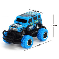 Tornado RC 1:43 Scale 4 channel RC Blue RTR car Body, (Requires AA Batteries)