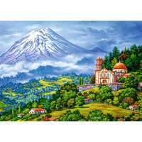 TREFL LANDSCAPE WITH VOLCANO 1000pc