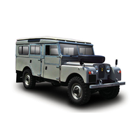 TSM 1/43 Land Rover Series One 107 Station Wagon 1965 Grey