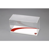 TSM 1/12 Ducati Single Display Case Type I - White