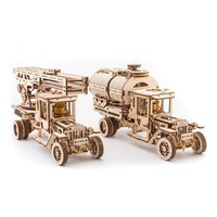UGears Set of Additions for UGM-11 Truck Wooden Model