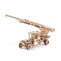 UGears UGM-11 Truck with Ladder Wooden Model