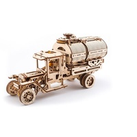 UGears UGM-11 Truck with Tanker Wooden Model