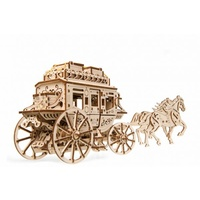 UGears Stagecoach Wooden Model