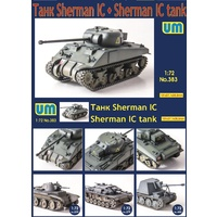 Unimodel 1/72 Sherman IC Medium Tank