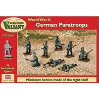 Valiant 1/72 German Paratroops VM006