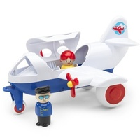 Viking Toys - Jumbo Airline with 2 Figures