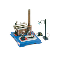 Wilesco 00105 D 105 Steam Engine Electric Light