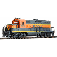 Walthers HO Trainline EMD Burlington Northern & Santa Fe #3820 Standard DC Locomotive