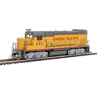 Walthers HO Trainline EMD GP15-1 - Standard DC - Union Pacific(R) (yellow, gray, red)