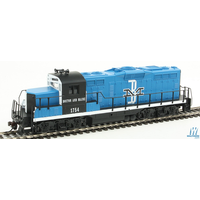 Walthers HO Trainline EMD GP9M B&M #1754 DC Locomotive