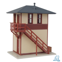 Walthers HO Trackside Signal Tower Built Up 931-810