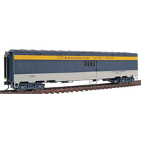 Walthers HO Gold Line Freight Express Troop Sleeper C&O WAL932-4167