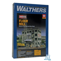Walthers Cornerstone HO Flour Mill Kit WAL933-3026