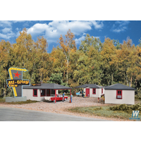 Walthers Cornerstone HO Motel Cabins (4) WAL933-3482