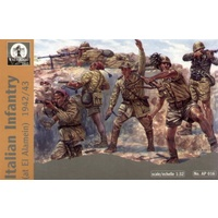 Waterloo 1/32 Italian (WWII) Infantry El Alamein Plastic Model Kit