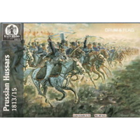 Waterloo Figures 1/72 Prussian Hussars of Brandeburg LC-AP021