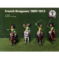 Waterloo 1/32 French Dragoons 1809 - 1815 Plastic Model Kit