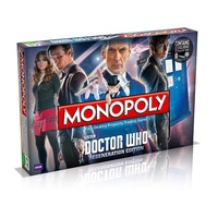 Monopoly Dr Who Regeneration WMA001056