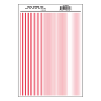 Woodland Scenics Decal Stripes Red WOO-762