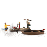 Woodland Scenics Family Fishing - HO Scale A1923