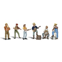 Woodland Scenics Jug Band - O Scale A2743