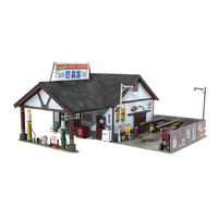 Woodland Scenics Ethyl's Gas & Service - HO Scale BR5048