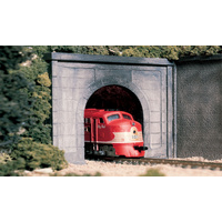 Woodland Scenics Concrete Single Portal - O Scale C1266