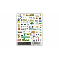 Woodland Scenics Mini-Series Product Logos DT570