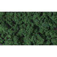 Woodland Scenics Clump Foliage - Dark Green WOO-FC684