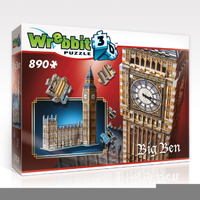 Wrebbit 3D Big Ben & Parliament 890pc