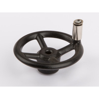 Wilesco 1402 Steering Wheel. Black (D368)