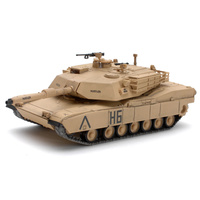 Waltersons 1/72 US MBT M1A1 Abrams Tank Desert Yellow