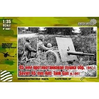 Zebrano1/35 Soviet 45mm Anti-Tank Gun m.1941