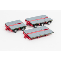 Drake 1/50 Deck 2x8 3x8 Steerable Trailer Membrey Accessory Kit Diecast