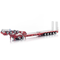 Drake Trailers Red 5x8 Swinging Drop Deck + 2x8 Dolly