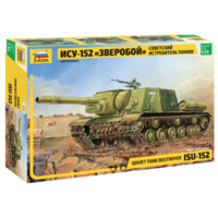 Zvezda 3532 1/35 ISU-152 Soviet Self-propelled Gun Plastic Model Kit